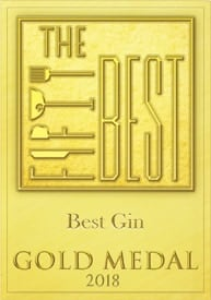 Fifty Best Gin GoldMedal 2018