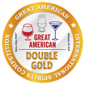 2018 Double Gold Medal Great-American-International Spirits Competition