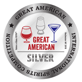 2018 Silver Medal - Great American International Spirits Competition